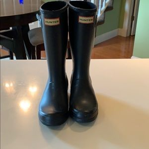 Girl Hunter boots black